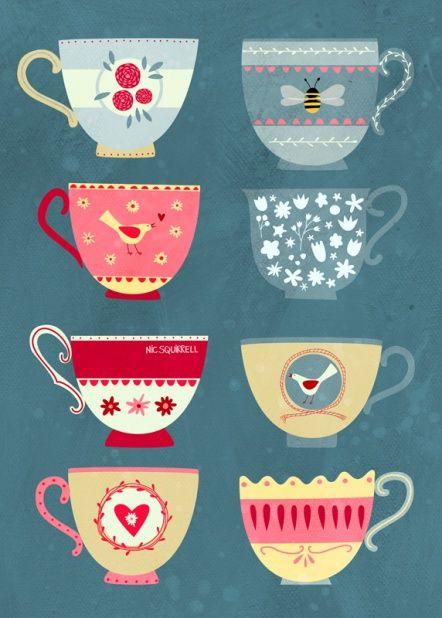 Diseños de tazas