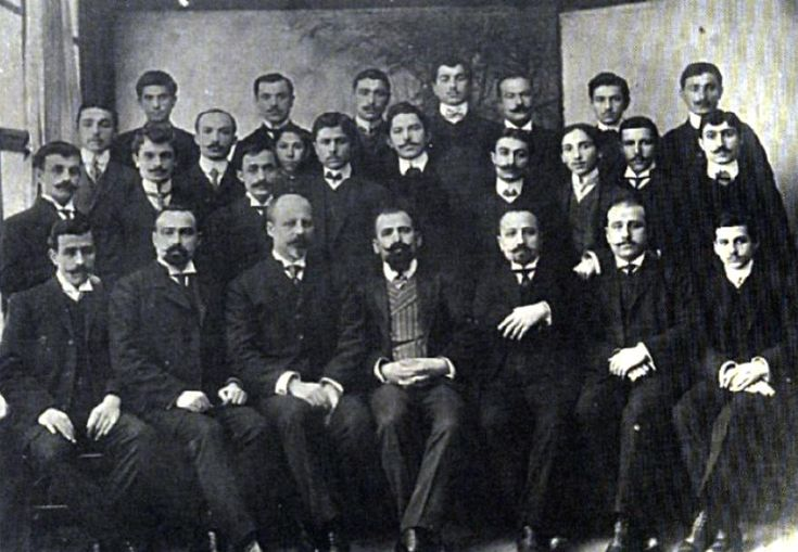 Trabzon_Greeks_1915.JPG (878×608) - these men were all highly educated and contributing to society until it was decided that they should be 'disappeared'