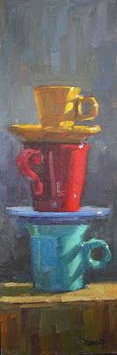 cathleen rehfeld • Daily Painting: The Latest Stack