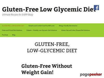 Cool Desserts and Comfort Food You Will Love! | Gluten-Free Low Glycemic Diet