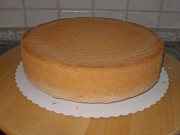Chefkoch.de Rezept: Bäckermeister - Biskuitboden