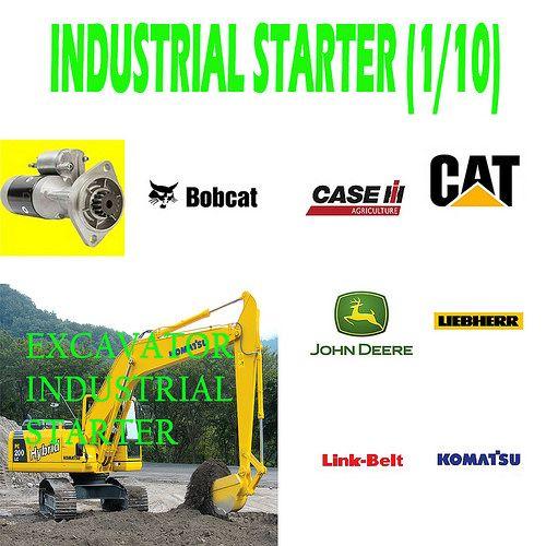 Industrial Starter (1/10) Excavator Starter