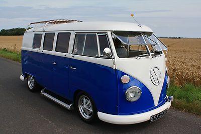 1966 VW T2 Split Screen Camper Van - Californian Import - LHD