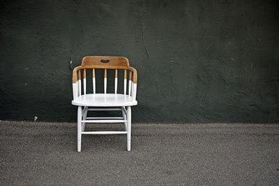 DIY Trend - Half Painted Furniture
