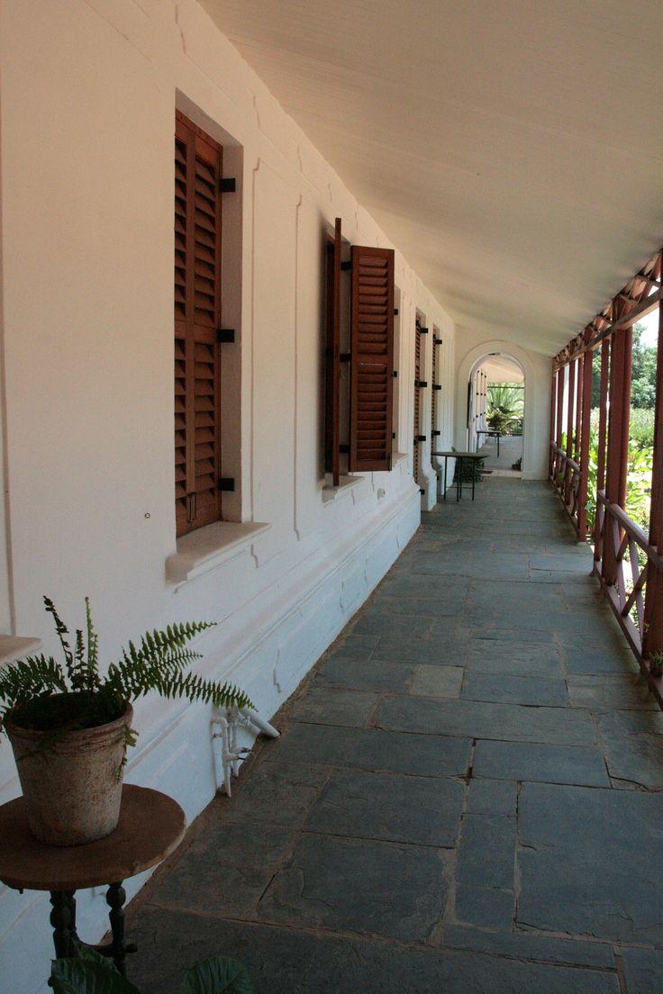 Sammy Marks Museum - Pretoria.   Zwartkoppies Hal is een van de mooiste koloniale landhuizen in het land. foto: G.J. Koppenaal - 20/1/2012