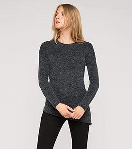 Damen Pullover in dunkelgrau - Mode günstig online kaufen - C&A