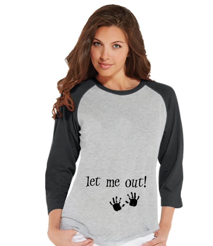 This fun shirt is the perfect way to announce your pregnancy! Our graphics are professionally printed directly onto the fabric for bright and vibrant designs which will last. The colors will not crack
