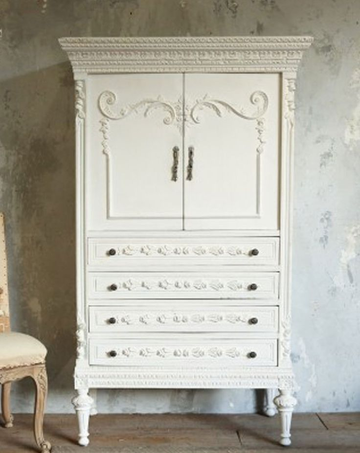 vintage armoire armoires and shabby chic on pinterest. Black Bedroom Furniture Sets. Home Design Ideas