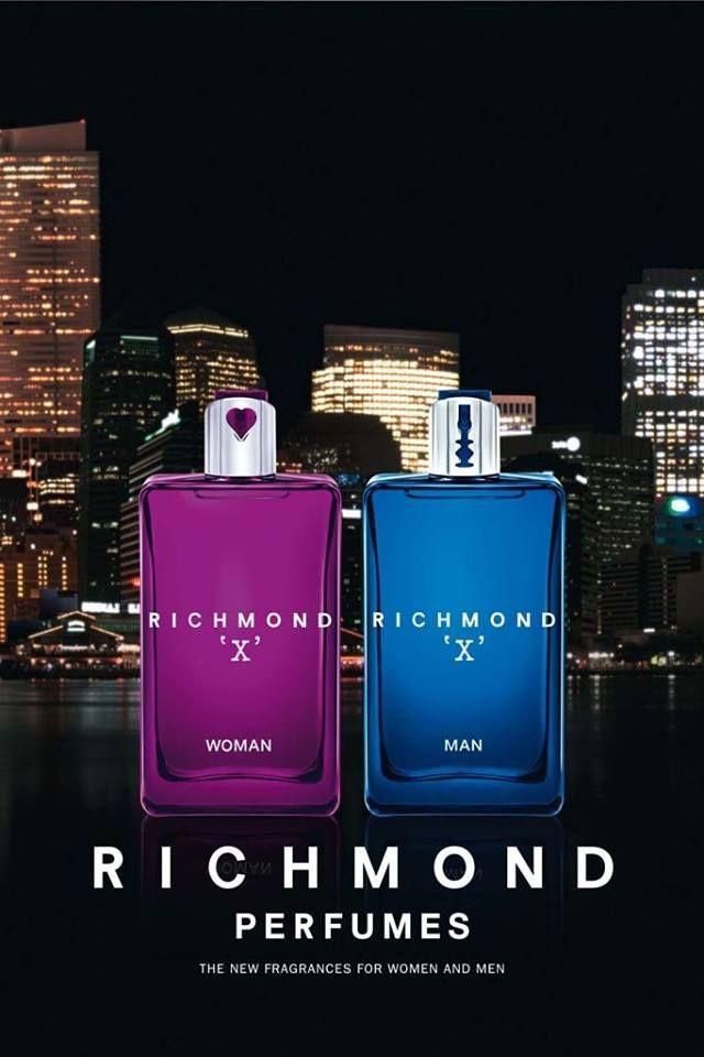 #John #Richmond X #Man  #парные #ароматы #kişi üçün #ətir və #qadın üçün #ətir