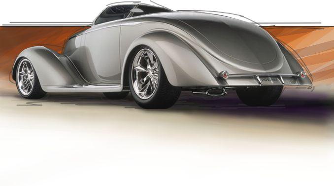 E Car >> A Chip Foose custom build #cars #hotrod   Chip Foose Design   Pinterest