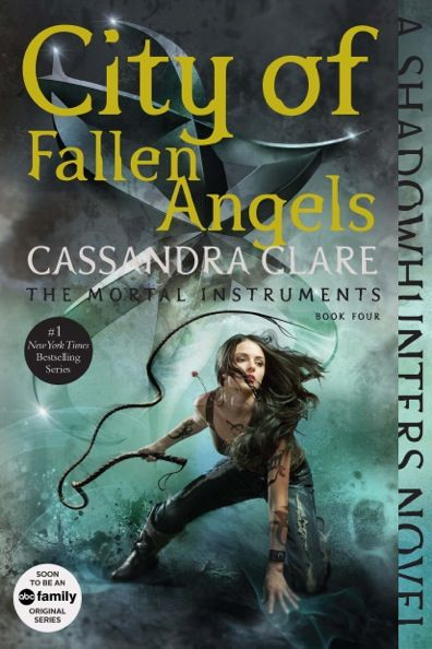 Coming September 1st, Cassandra Clare's Shadowhunters novels are being repackaged with all-new art and bonus content! Here's the new City of Fallen Angels cover!