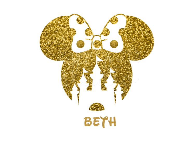 Minnie Mouse Castle Glitter Girl Personalized Girly Girl Matching Family Mother Iron On Decal Glitter Disney Iron Vinyl Decal for shirt by HappyCutsStudio on Etsy https://www.etsy.com/listing/481455453/minnie-mouse-castle-glitter-girl