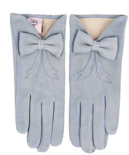 Minna Parikka Bardot Glove dusty blue (suede leather)