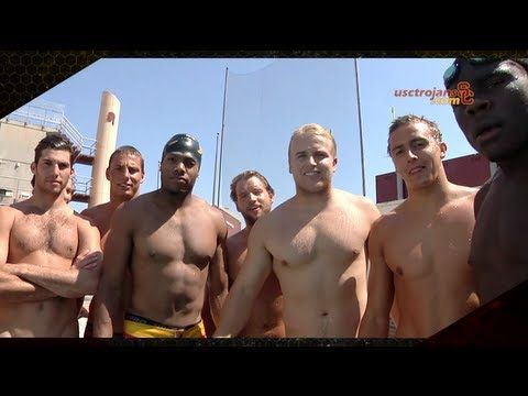 PROJECT TRO7AN - MATT vs. Water Polo - USC football players attempting to play water polo ;)