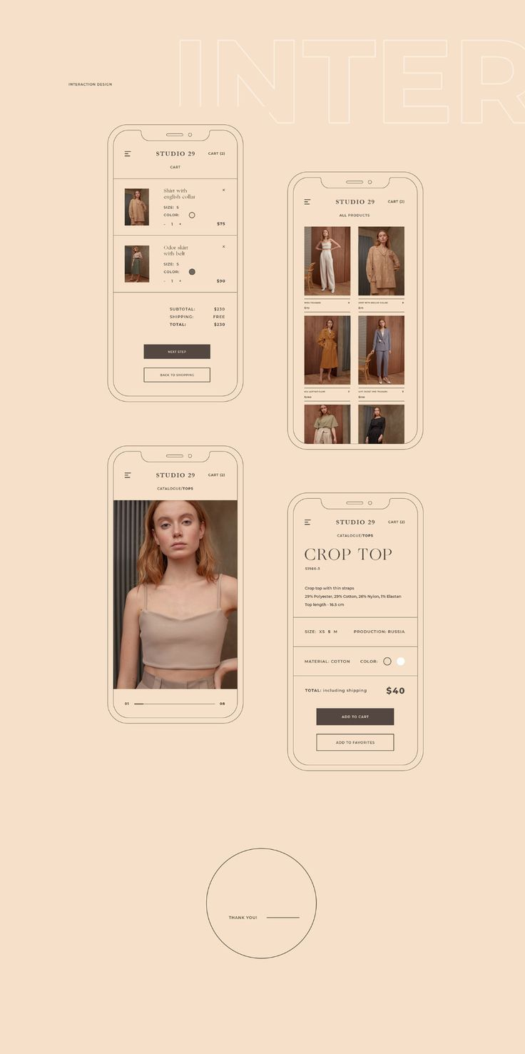 Studio29 Redesign In 2020 Portfolio Website Design Minimalist Web Design Small Business Website Design