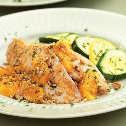Pacific Sole With Oranges and Pecans | Pecans, Orange and ...