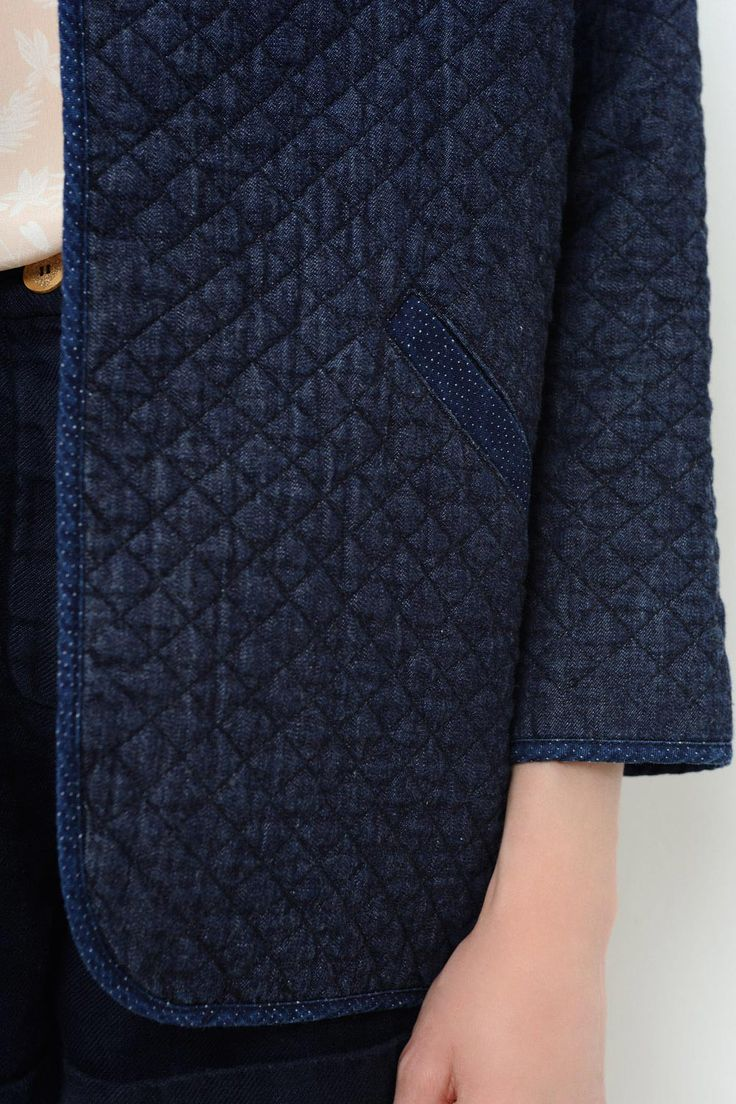 Jacket Olgory Indigo - veste - Des Petits Hauts 4