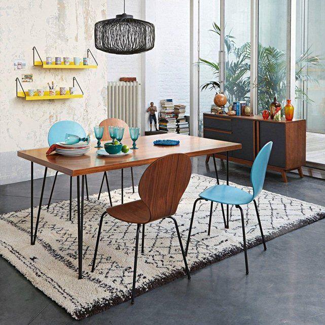 Table de repas, esprit vintage, 2 modèles, Watford La Redoute Interieurs