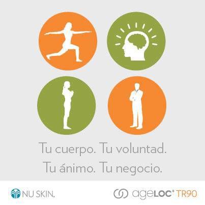 4 áreas de tu vida, un solo producto ageLOC #TR90