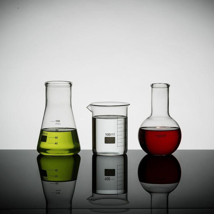 Lab 100ml Set of 3 Mini Science Flasks