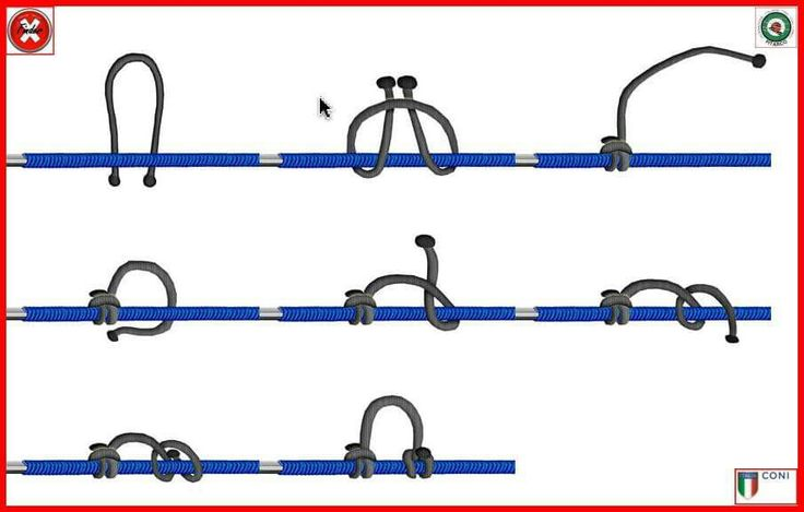 How to tie a D loop