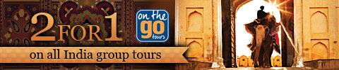 2 for 1 On ALL India Group Tours! on the go