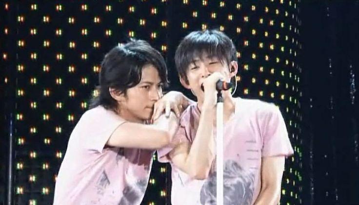 V6 Ken Miyake and Junichi Okada