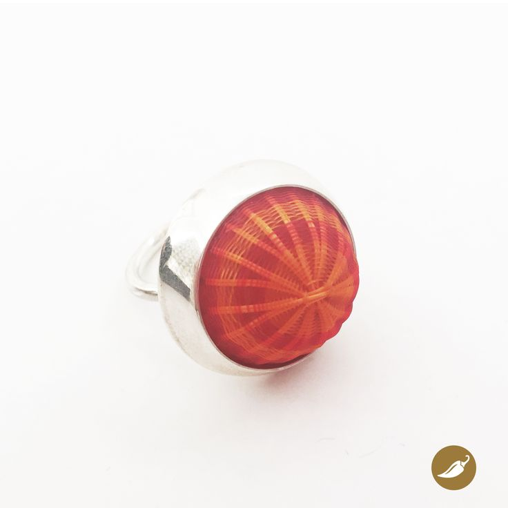 Ring designed by Monoco for Ají Diseño Imprescindible Gallery/shop located in the historic Lastarria neighborhood, Santiago, Chile.