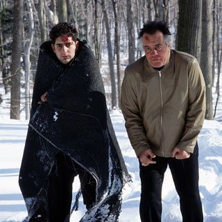 Christopher and Paulie in the Pine Barrens.