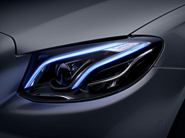 Auf einen Blick: das neue LED MULTIBEAM in der neuen E-Klasse - Mercedes-Benz Passion Blog / Mercedes Benz, smart, Maybach, AMG