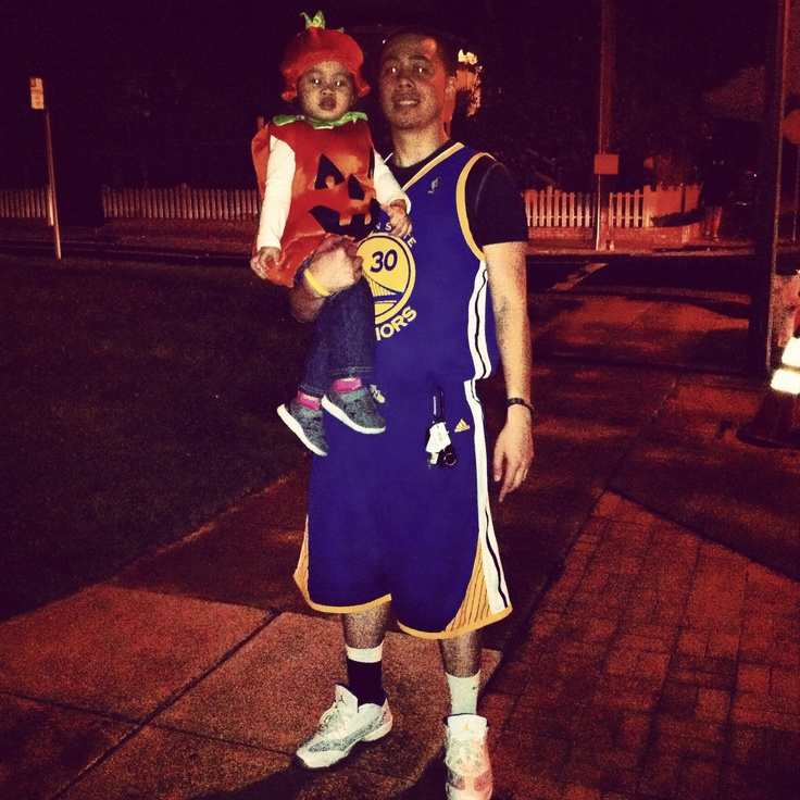 Tried to be Steph Curry as my Halloween costume   # ...