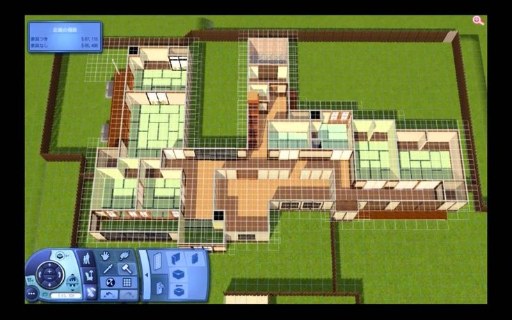 Sims 3 Japanese House   題名のない建築動画14