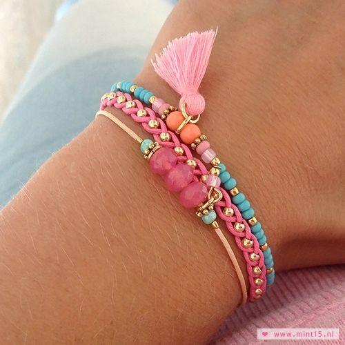 Bracelet perles Más