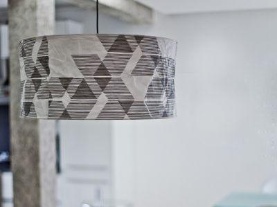 Lampa z tyveku LINEWORKS // Kafti