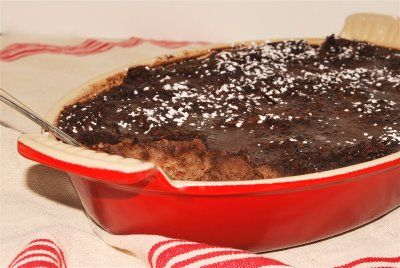 Four-Star Chocolate Bread Pudding