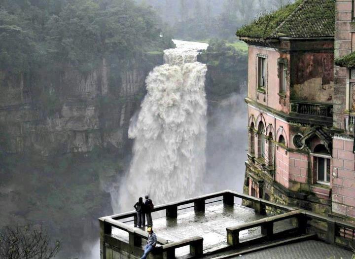 Salto del tequendama  Si tu #DestinoFavorito es #Bogotá visitanos en www.easyfly.com.co/Vuelos/Tiquetes/vuelos-desde-bogota