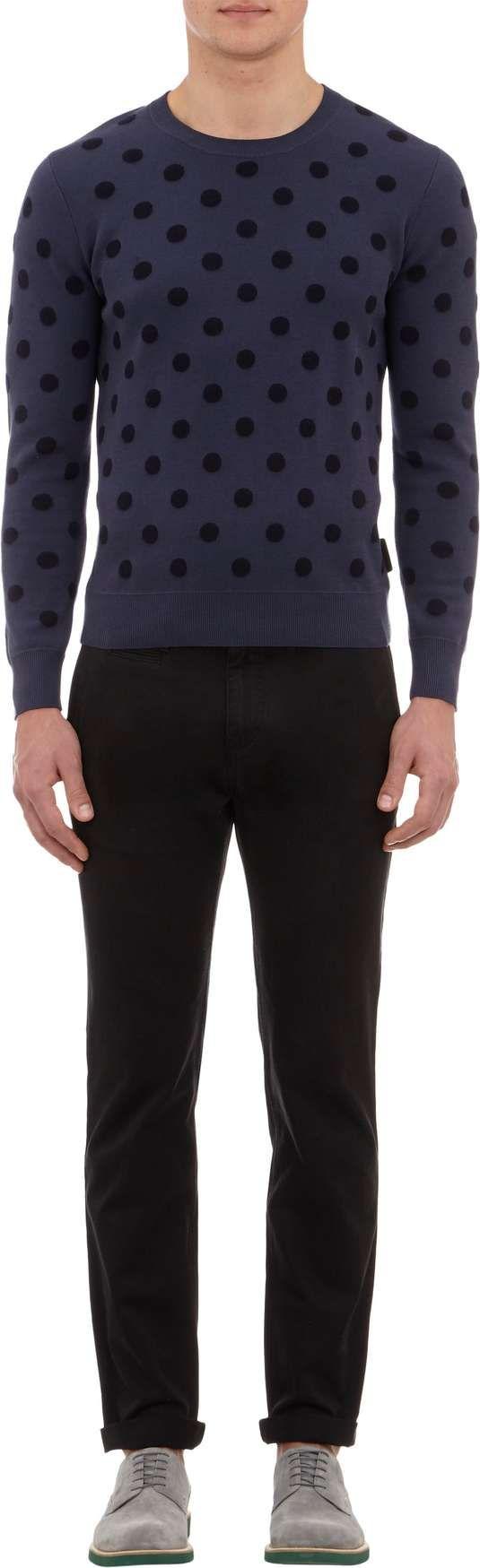 Dots for Men | Burberry Brit Polka Dot Sweatshirt on Wantering #menssweatshirt #mensstyle #mensfashion #menswear #burberry #wantering http://www.wantering.com/mens-clothing-item/polka-dot-sweatshirt/ahIDp/