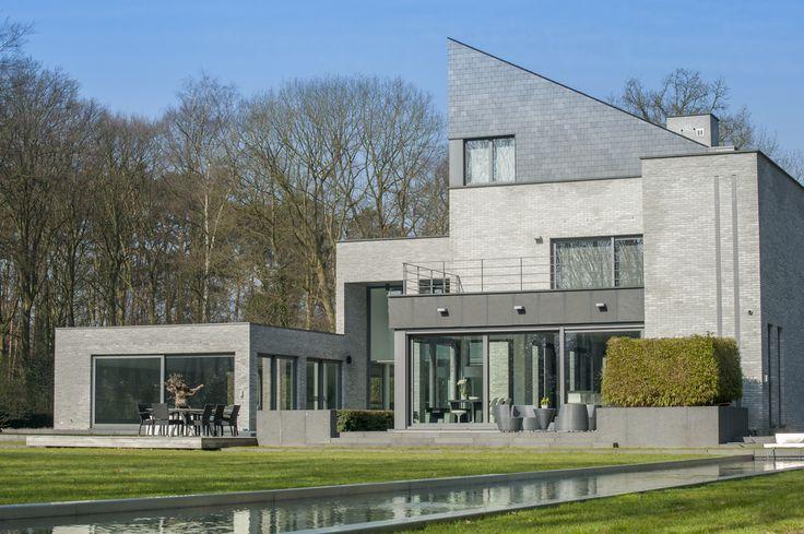 Een hyper moderne en strakke woning