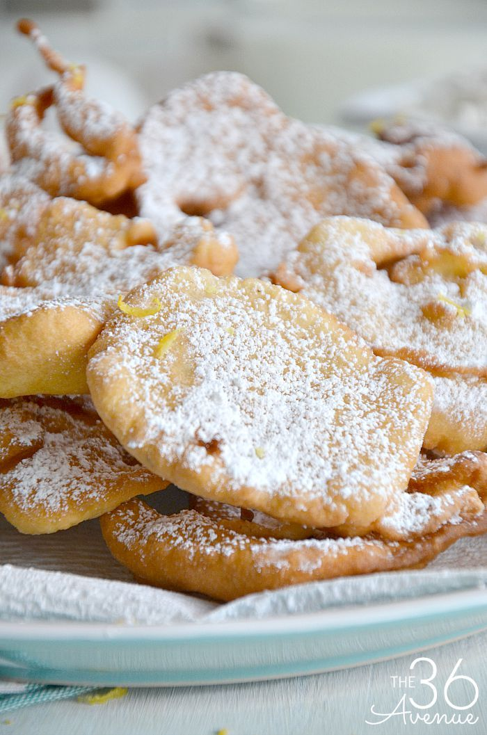 Fried Dough Recipe... Such a yummy treat! Read more here http://www.the36thavenue.com/fried-dough-recipe/ 