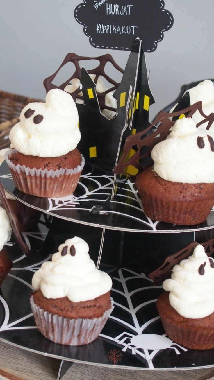 Halloween cupcake eggfree