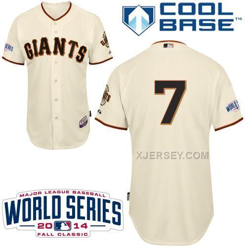 http://www.xjersey.com/giants-7-blanco-cream-2014-world-series-cool-base-jerseys.html GIANTS 7 BLANCO CREAM 2014 WORLD SERIES COOL BASE JERSEYS Only $34.00 , Free Shipping!
