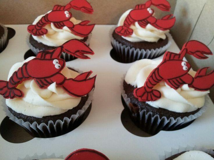 Lobster cupcakes