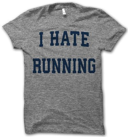 It's a love/hate relantionship. @Brooke Riffel @Briana Wilkerson @Lisa Johnson This could our Rock The Parkway shirt. ;) the back could say:Just Joking.