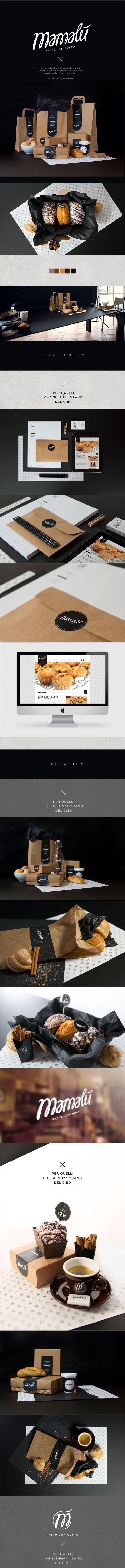 MAMALÙ #identity #packaging
