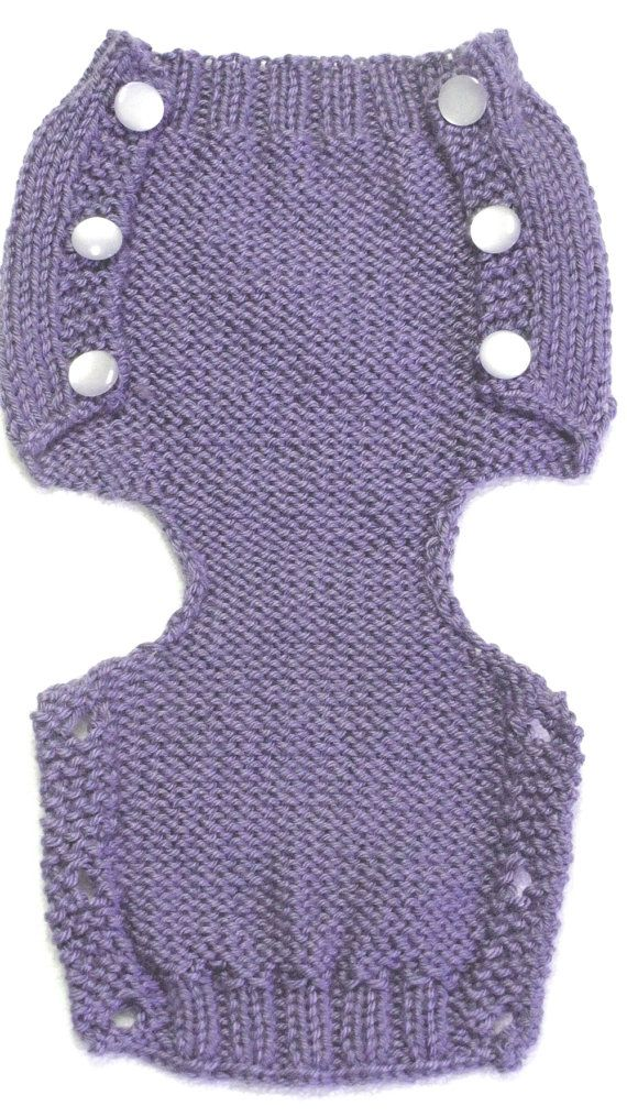 Diaper Cover Knitting Pattern PDF Medium 3 to 6 by ezcareknits