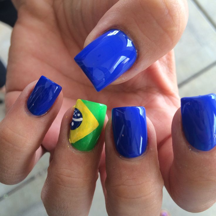 FIFA WORLD CUP BRASIL NAILS @nydiasnails IG