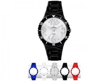 Relógio Feminino Champion CP 30182 R BR Analógico - Mostrador com Cristais e Troca Pulseira