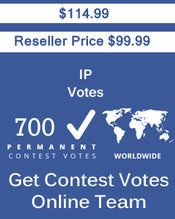 Buy 700 IP/Single Click Votes at $99.99 Votes from different USA IP Address Bulk Votes Available. Different Country IP address available. www.getcontestvot... #buyonlinevotes #buycontestvotes #buyfacebookvotes #getonlinevotes #getcontestvotes #buyvotesforonlinecontest #buyipvotes #getbulkvotes