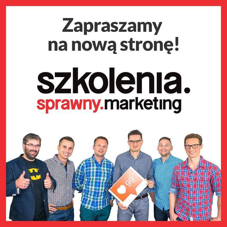 Panie i Panowie! Pozwólcie, że przedstawimy Wam naszą nową stronę szkoleniową! http://sprawnymarketing.pl/szkolenia