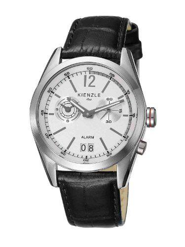 Kienzle Herren-Armbanduhr XL Analog Leder K3071011011 - http://herrentaschenkaufen.de/kienzle/kienzle-herren-armbanduhr-xl-analog-leder
